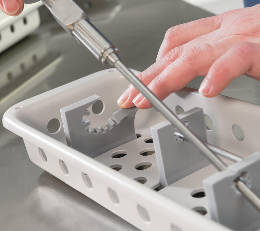 Device Preparation, Packaging and VH2O2 Sterilization