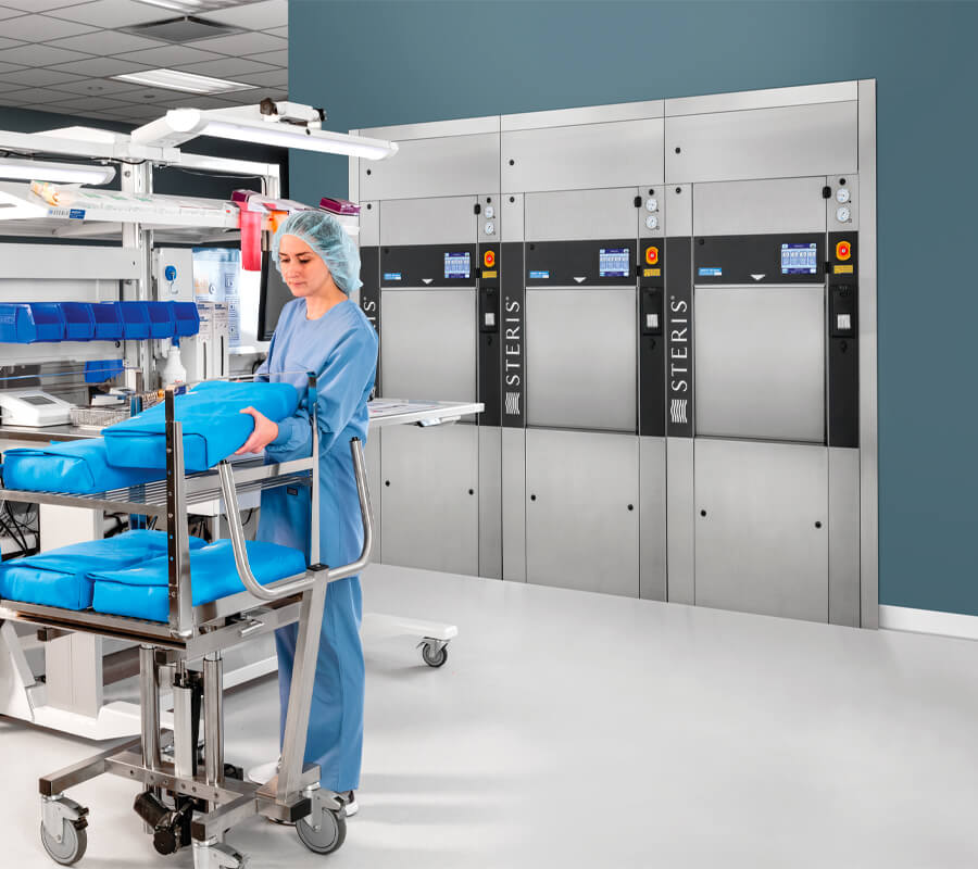 AMSCO 600 Medium Steam Sterilizer - Online In-Service Course